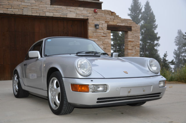 1990 Porsche 911 Carrera 4 911  coupe