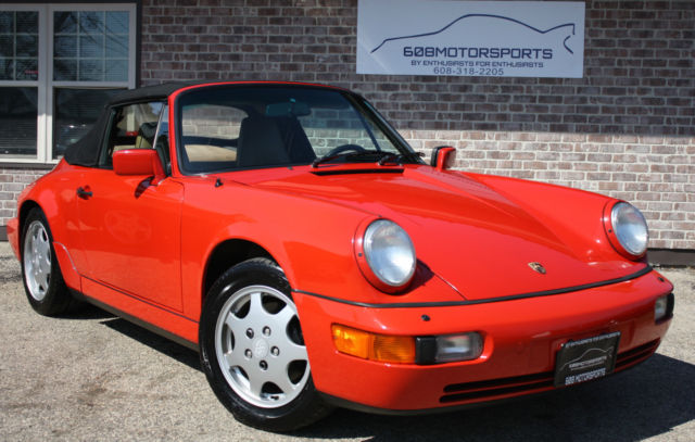 1990 Porsche 911 Carrera Convertible 2-Door Automatic 4-Speed