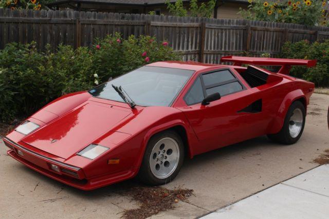 1990 Prova Lamborghini Countach Replica For Sale Photos Technical