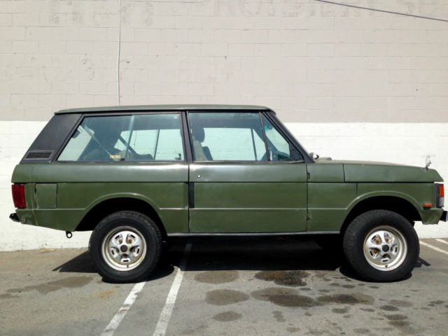 1990 range rover classic 2 door 3 9 efi v8 for sale. Black Bedroom Furniture Sets. Home Design Ideas