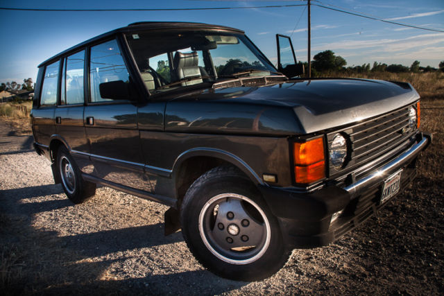 1990 range rover classic county v8 4x4 awd grey land rover. Black Bedroom Furniture Sets. Home Design Ideas