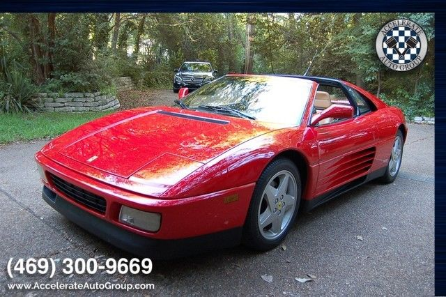 1990 Ferrari 348 BEAUTIFUL, NO ISSUES, ONLY 28K MILES!