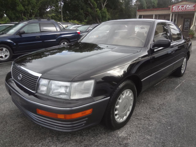 1990 Lexus LS Base Sedan 4-Door