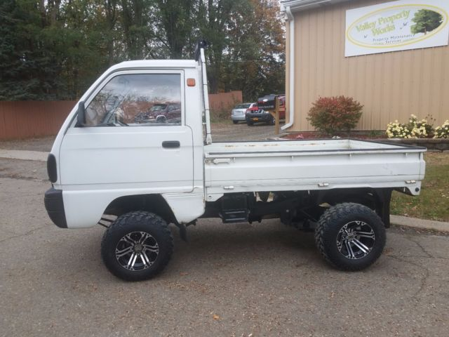 5680f403f0772e 1990 Suzuki Carry 4X4 Mini Truck Japanese Kei Truck for sale  photos ...