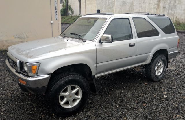 1990 Toyota 4Runner SR5 2 Door