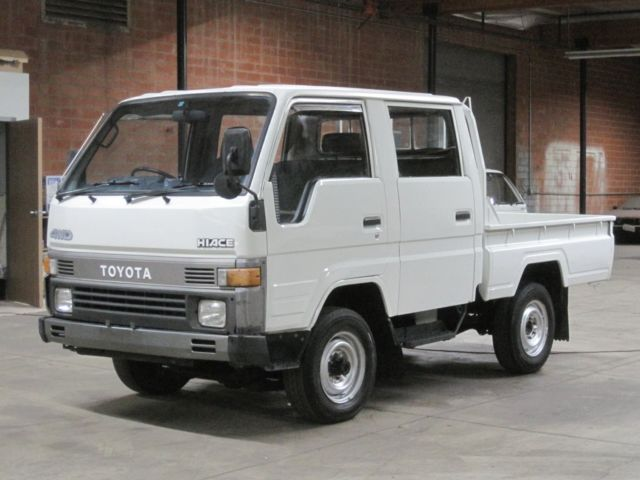 1990 Toyota Hiace Crewcab Truck Diesel 4wd Hi Lo 5 Speed