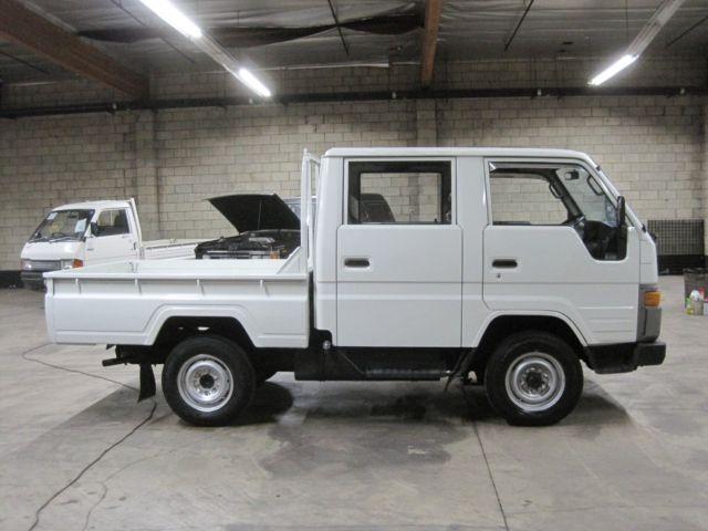 Cars For Sale Los Angeles >> 1990 Toyota Hiace Crewcab Truck DIESEL 4WD Hi-Lo 5 speed RHD Street Legal Import for sale ...