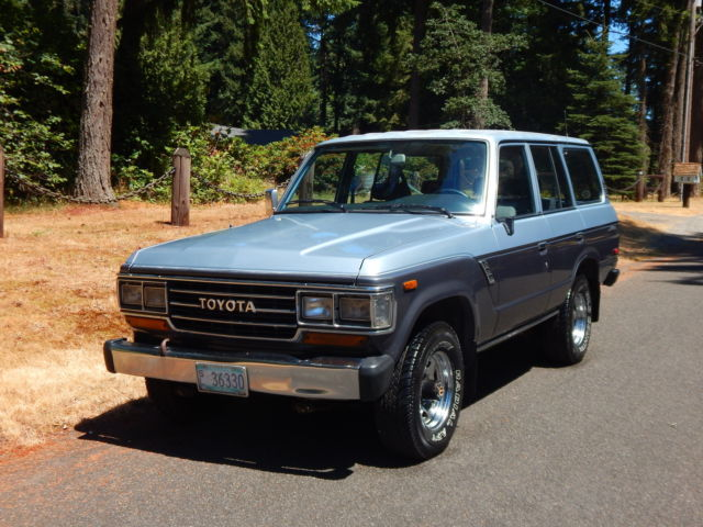 1990 Toyota Land Cruiser FJ62 NO RESERVE 220k Automatic ALL ORIGINAL SOLID