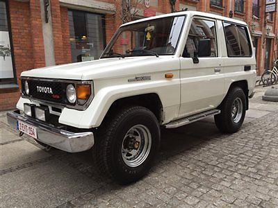 1990 Toyota Land Cruiser LJ70