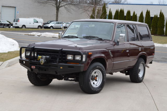 1990 Toyota Land Cruiser 4dr Wagon