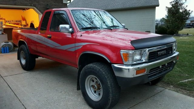 1990 Toyota Pickup SR5 Xtra Cab 4x4 V6 for sale: photos