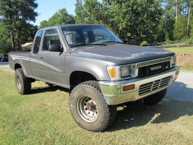 1990 Toyota Tacoma 4x4 Extended Cab Pickup For Sale Photos