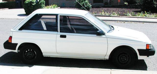 1990 toyota tercel ez 3 door hatchback 72k 15l 4 spd manual trans 1990 toyota tercel ez 3 door hatchback 72k 15l 4 spd manual trans cold air cd publicscrutiny Gallery