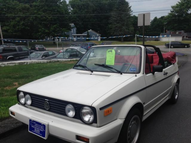 1990 Volkswagen Cabriolet Convertible One Owner 52k Miles