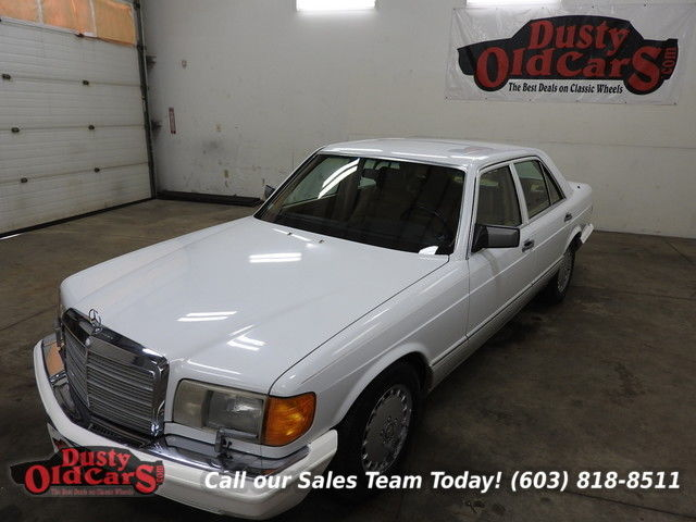 1990 Mercedes-Benz 300-Series Runs Drives Body Inter Excel 3.0L I6 4spd Auto