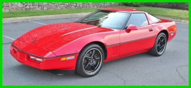 1990 Chevrolet Corvette ZR1 2dr Hatchback