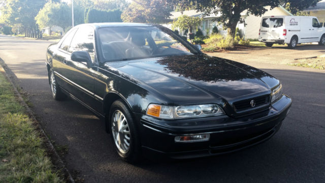 1991 Acura Legend L (with Black Leather)