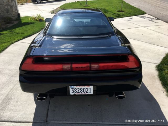 1991 Black Acura NSX Coupe with Black interior