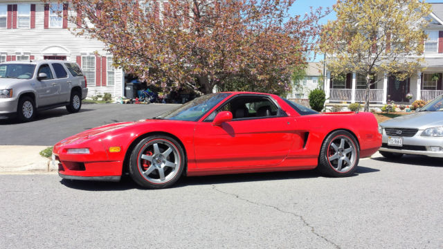 1991 acura nsx red black for sale photos technical specifications description. Black Bedroom Furniture Sets. Home Design Ideas