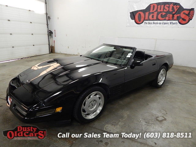 1991 Chevrolet Corvette Runs Drive Excellent Season Ready