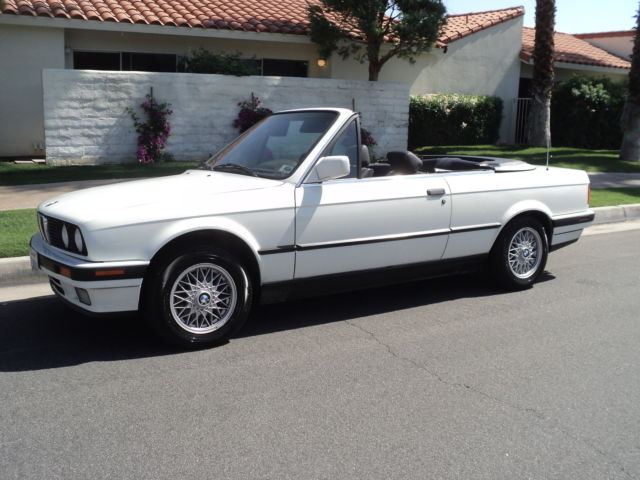 1991 bmw 325i convertible automatic transmission low miles. Black Bedroom Furniture Sets. Home Design Ideas