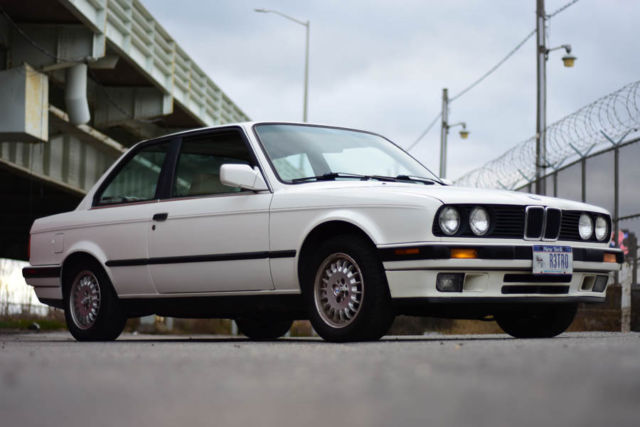 1991 Bmw 325i E30 Alpine White Coupe All Original 123k 325is For Sale Photos Technical