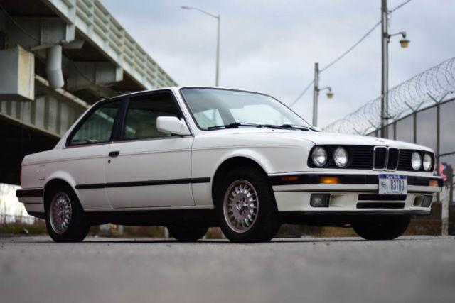 1991 Bmw 325i E30 Alpine White Coupe All Original 123k 325is For Sale Photos Technical