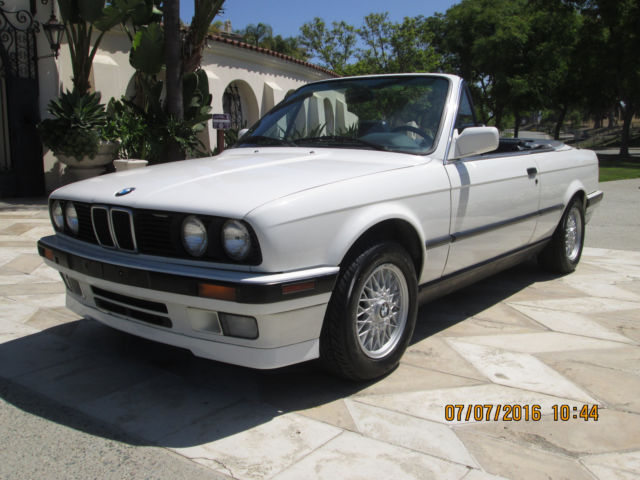 1991 BMW 3-Series IC Cabrio