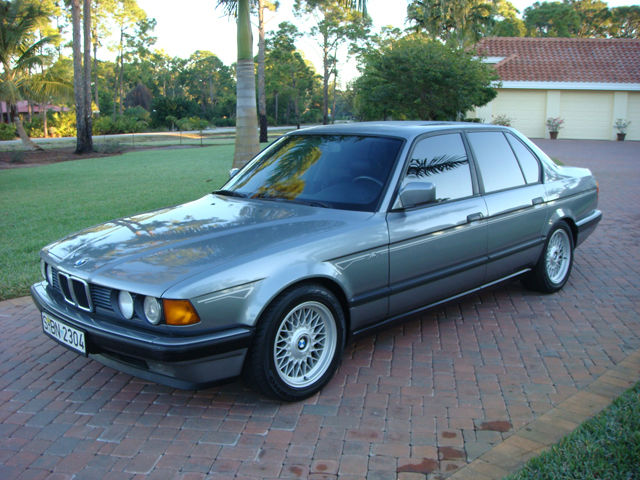 Worksheet. 1991 BMW 730i AC Schnitzer for sale photos technical