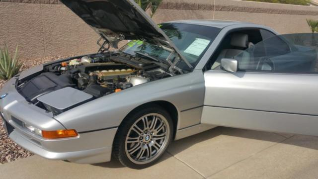 1991 BMW 8-Series 850i 2dr Coupe Coupe Automatic 4-Speed V12 5.0L