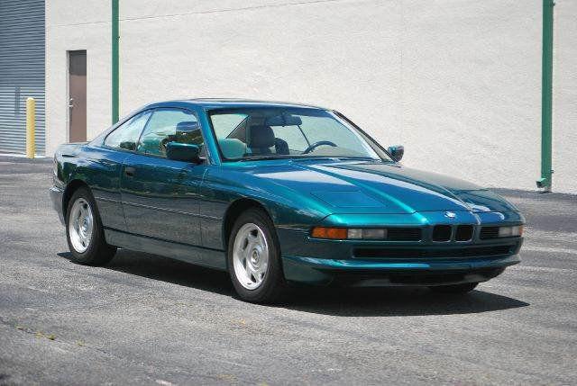1991 BMW 8 SERIES GREEN