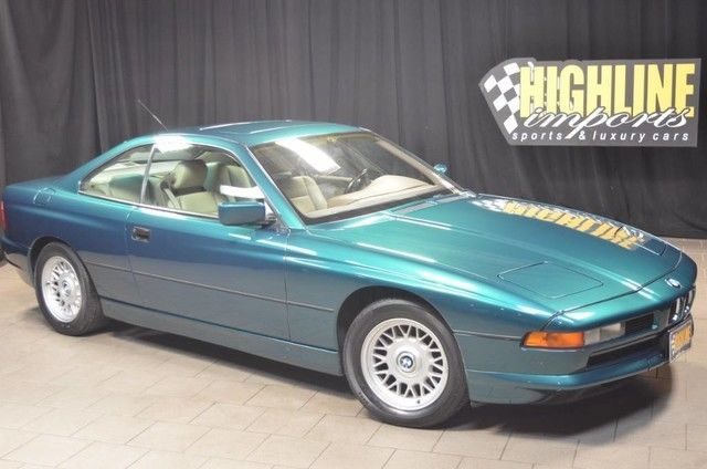 1991 BMW 850ci V12 with Rare 6-Speed Manual, Very Clean Car