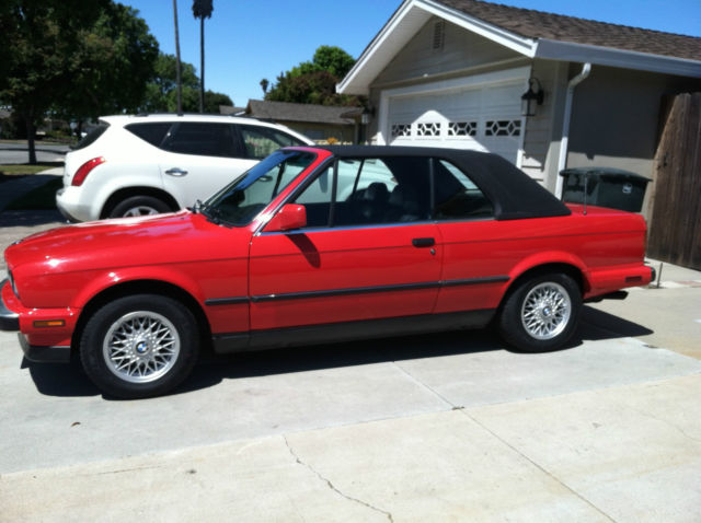 1991 Bmw E30 325i Convertible W   Factory Hardtop For Sale