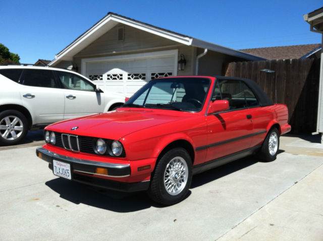1991 bmw e30 325i convertible w factory hardtop for sale photos technical specifications. Black Bedroom Furniture Sets. Home Design Ideas