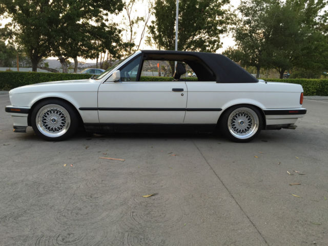 1991 Bmw E30 325i Hard Top Convertible California Rust