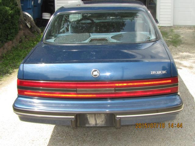 1991 Buick Century Ocean Blue Metallic factory paint for