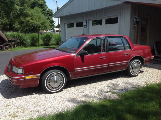 1991 Buick Skylark Base Sedan 4 Door 2 5l