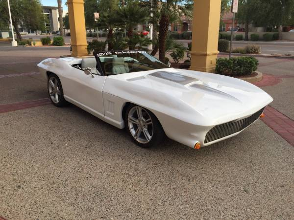 1991 C4 Corvette With C2 Body Kit Retro Stingray 1967 Pro