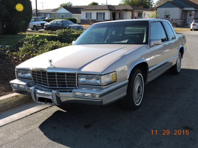 1991 Cadillac DeVille coupe- 2 door
