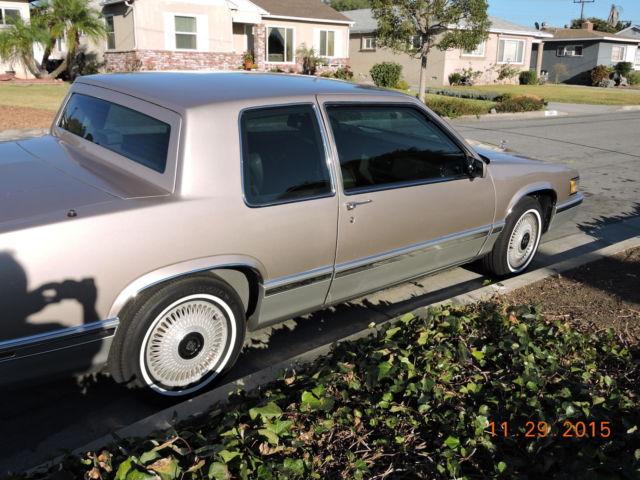 1991 Cadillac Coupe Deville 49k Original Miles 2