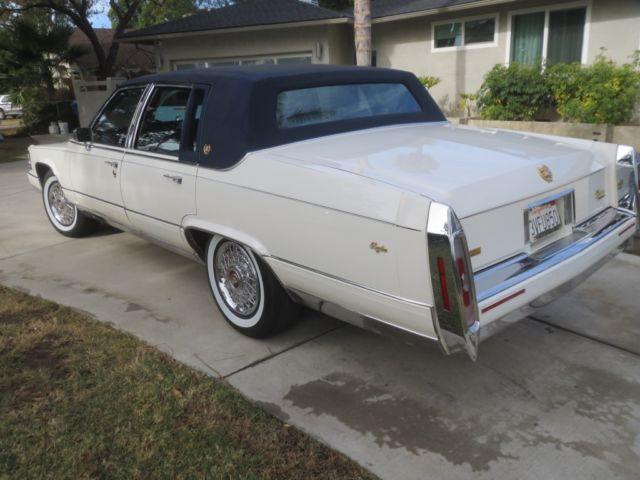 1991 Cadillac Fleetwood Brougham for sale: photos, technical ...