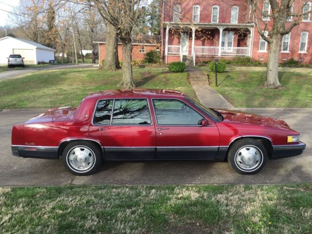 1991 Cadillac Sedan Deville For Sale Photos Technical