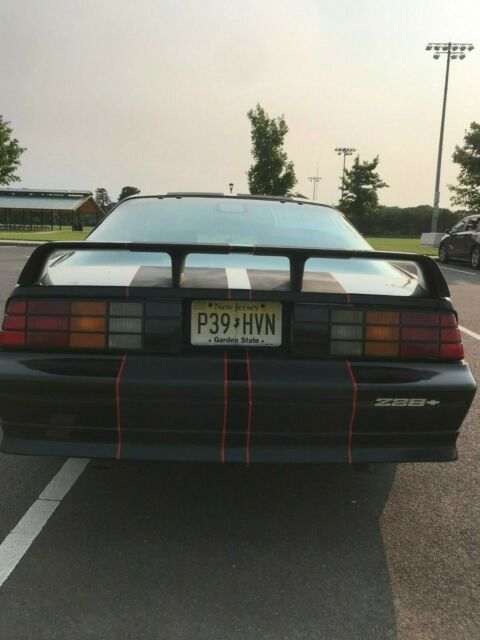 1991 Black Chevrolet Camaro Coupe with Black interior