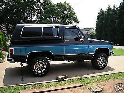 1991 chevrolet chevy full size silverado blazer, 4x4, great Chevy K5 Blazer