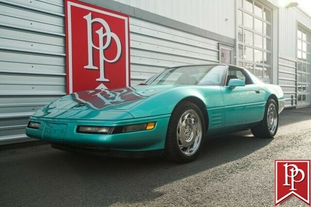 1991 Chevrolet Corvette 18834 Miles TURQUOISE METALLIC for