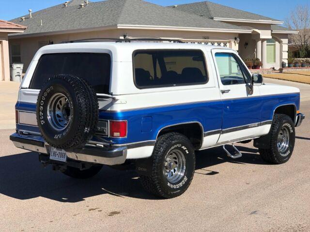 1991 Chevrolet K5 Blazer Silverado for sale: photos ...