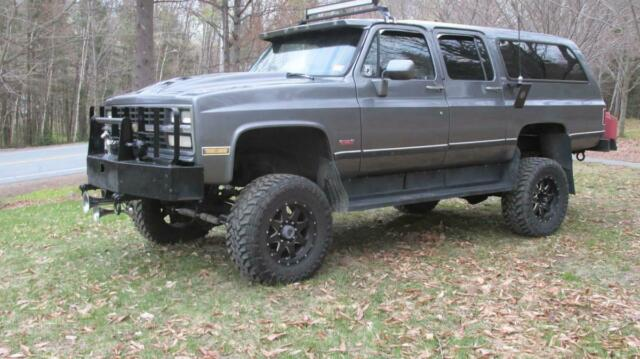1991 Chevrolet Suburban Diesel 8 Cylinder Engine 6.2L/379 Manual Grey Gray SUV