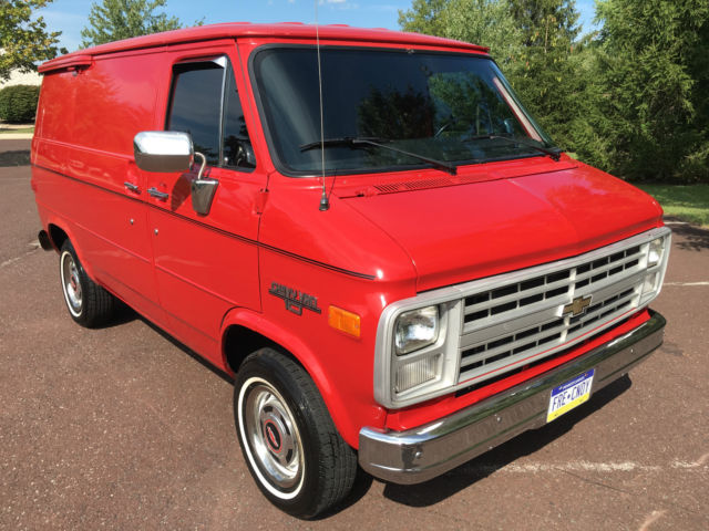1991 CHEVY G10 SHORTY VAN NO WINDOWS CARGO V8 NICE ORIGINAL STOCK