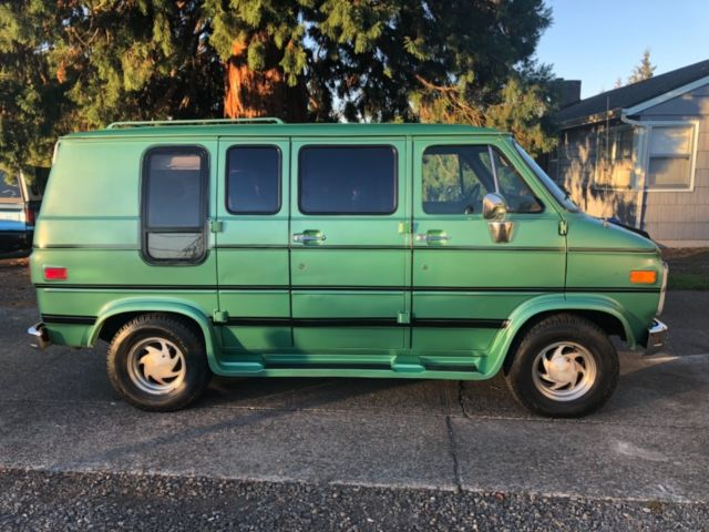 1991 chevy g20 shorty conversion van for sale: photos, technical