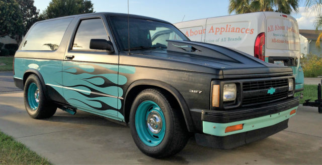 1991 chevy s10 blazer 2wd street rod for sale photos technical specifications description. Black Bedroom Furniture Sets. Home Design Ideas